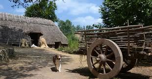 Les fermes du Moyen Age